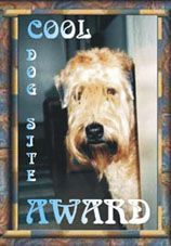 Wheaten Terriers Cool Dog Site Award